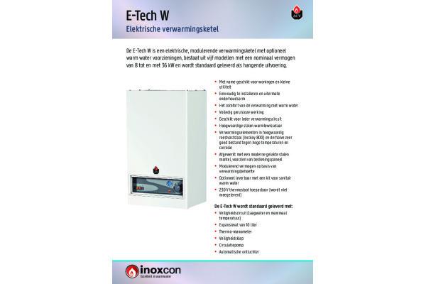 Brochure E-Tech W 2020