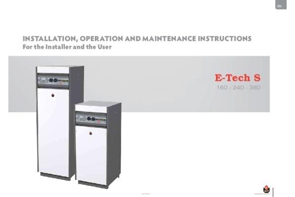 Handleiding E-Tech S