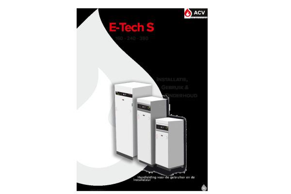 Handleiding E-Tech S NL