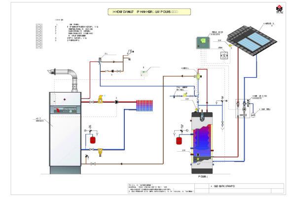Schema HeatMaster - Smart ME - Helio Smart
