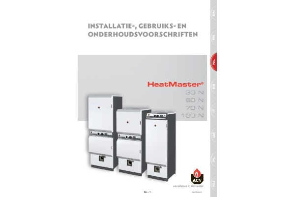 Handleiding HeatMaster 70-100N