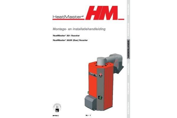 Handleiding HeatMaster 200N