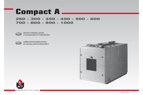 Handleiding Compact A 250-1250
