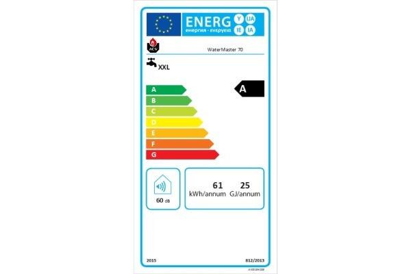 Energy Label WaterMaster 70