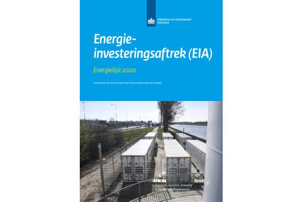 Energie Investeringsaftrek energielijst 2020