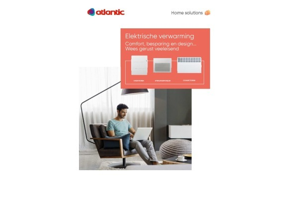 Brochure elektrische verwarming Atlantic
