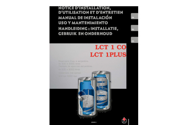 Handleiding LCT 1 en 1PLUS