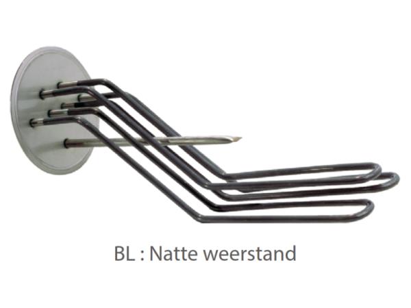 Elektrische natte weerstand ten behoeve van LCT 1 PLUS