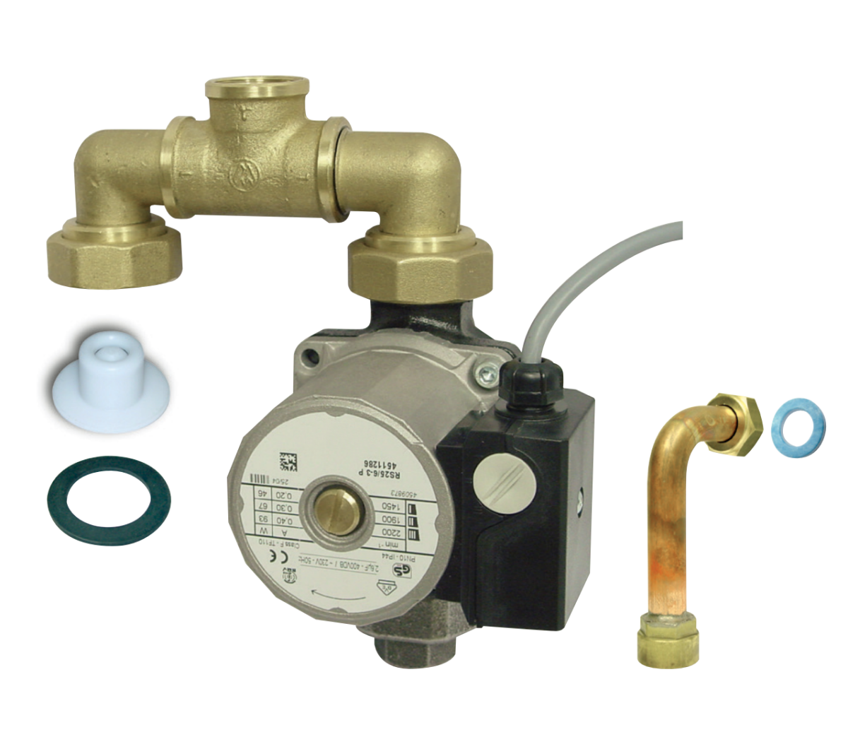 Kit Sanitair in combinatie met externe boiler